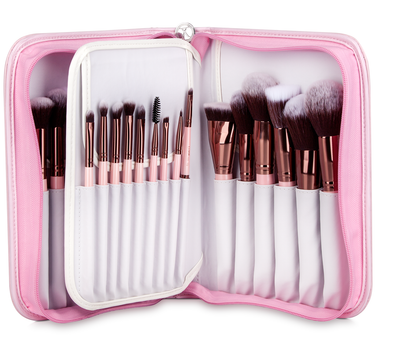 LUXIE ROSE GOLD 30 PIECE BRUSH BOOK SET