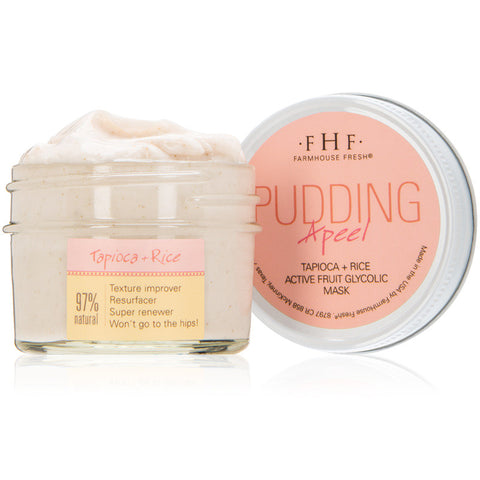 FarmHouse Fresh - Pudding Apeel - An active fruit mask with glycolic acid