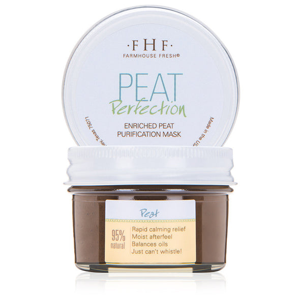FarmHouse Fresh - Peat Perfection Mask - A calming clay face mask that instantly soothes the skin