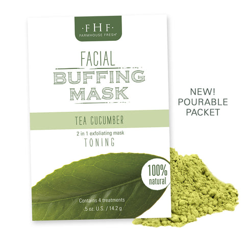 FarmHouse Fresh - Facial Buffing Mask - Tea Cucumber