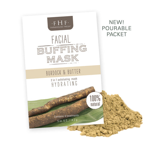 FarmHouse Fresh - Facial Buffing Mask - Burdock & Butter