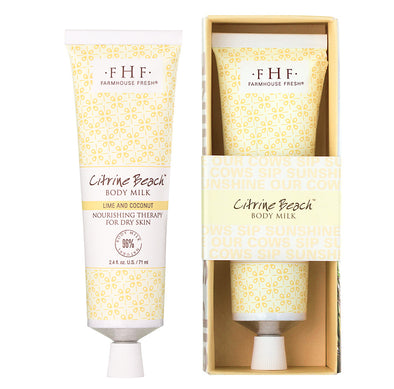 FarmHouse Fresh -  Citrine Beach Body Milk Travel Lotion