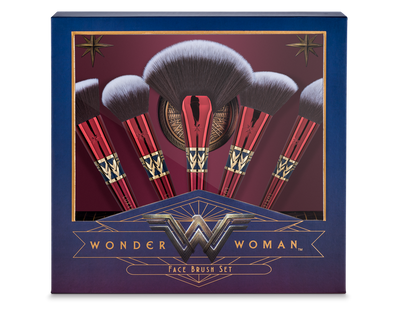 WONDER WOMAN FACE BRUSH SET