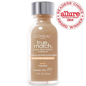 L'oreal True Match™ Super Blendable Makeup ( classic tan N7 )