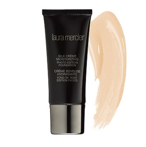 Laura Mercier Silk Crème Moisturizing Photo Edition Foundation ( Medium Ivory )