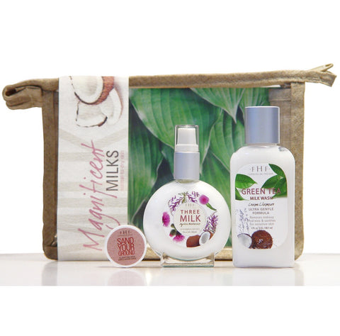 FarmHouse Fresh - Magnificent Milk 3-piece Facial Starter Set