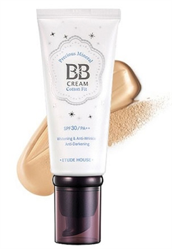 Etude House Precious Mineral BB Cream Cotton Fit SPF30 PA++ NO2 Natural Beige