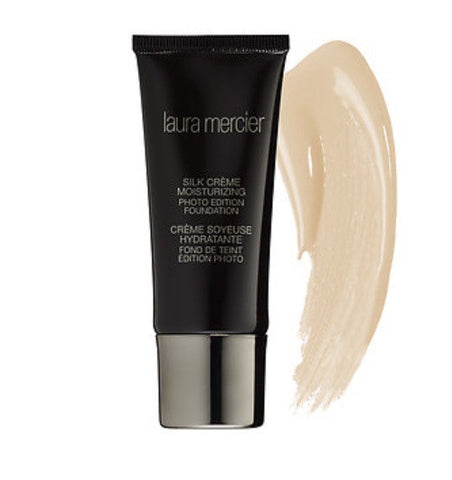 Laura Mercier Silk Crème Moisturizing Photo Edition Foundation ( Bamboo Beige )