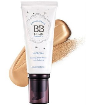 Etude House Precious Mineral BB Cream Cotton Fit SPF30 PA++ NO2 Honey Beige