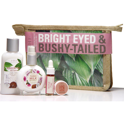 FarmHouse Fresh - Bright Eyed and Bushy Tailed 3-Piece Facial Startear set