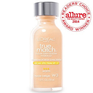 L'oreal True Match™ Super Blendable Makeup ( nude beige W3 )