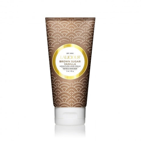 Lalicious weightless BROWN SUGAR VANILLA HAND CREAM