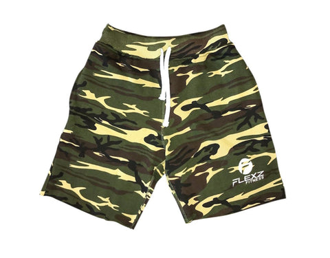 Gym Sweatshorts - Camo - Flexz Fitness - 1