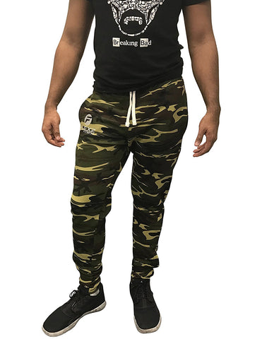 Gym Shark Fitted Sweatpants Bodybuilding - Camo - Flexz Fitness - 1