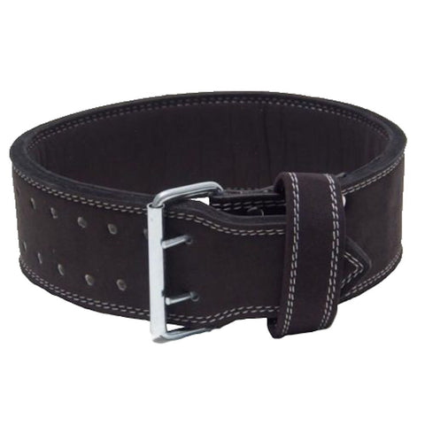 Double Prong Powerlifting 10mm Belt - Black - Flexz Fitness - 1