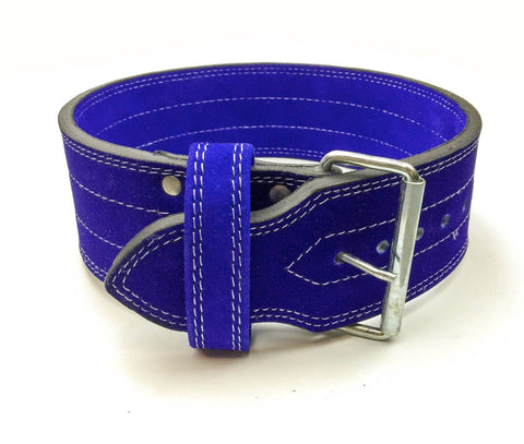 Single Prong Powerlifting 10mm Belt - Blue - Flexz Fitness - 1