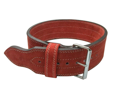 Single Prong Powerlifting 10mm Belt - Red - Flexz Fitness - 1