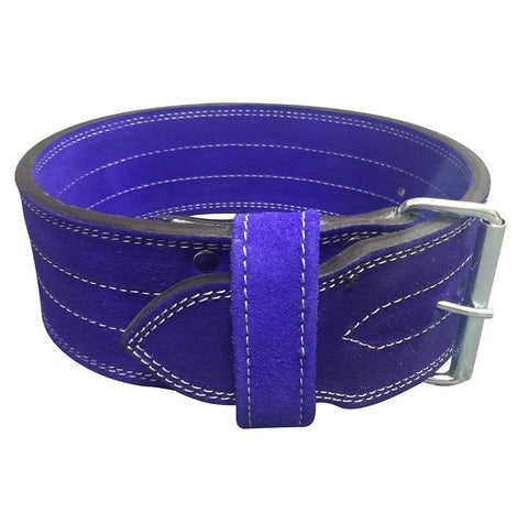 Single Prong Powerlifting 10mm Belt - Violet - Flexz Fitness