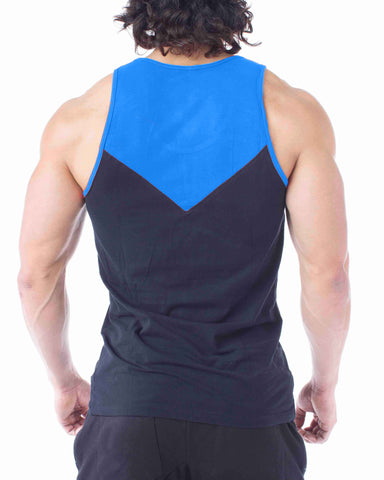 Flexz Fitness Blue Tank Top - Flexz Fitness - 2