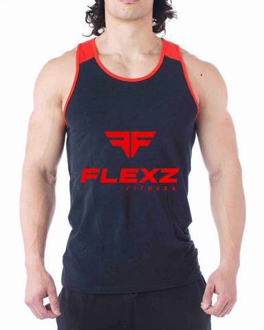 Flexz Fitness Red Tank Top - Flexz Fitness - 1