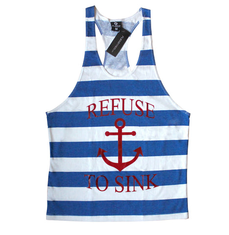 Refuse to Sink Singlet Tank Top - Flexz Fitness - 1