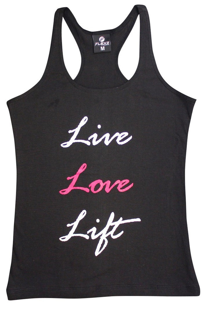 57d88fcee9578 ... Live Love Lift Womens Tank Top - Comfortable racerback to wear at Gym