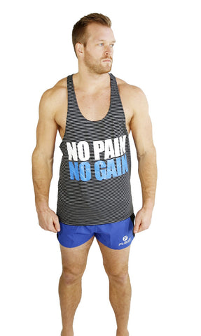 No Pain No Gain Singlet - Flexz Fitness - 2