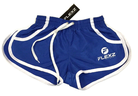 Gym Shorts ZYZZ Bodybuilding 2euros - Blue - Flexz Fitness
