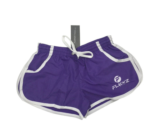 Gym Shorts ZYZZ Bodybuilding 2euros - Purple - Flexz Fitness