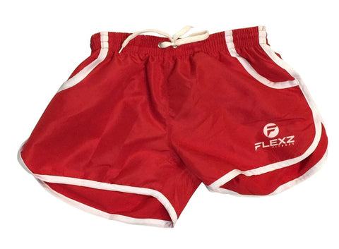 Gym Shorts ZYZZ Bodybuilding 2euros - Red - Flexz Fitness