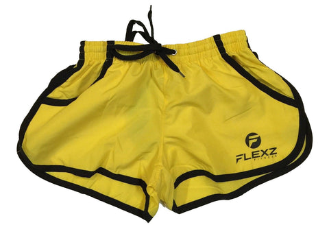 Gym Shorts ZYZZ Bodybuilding 2euros - Yellow - Flexz Fitness