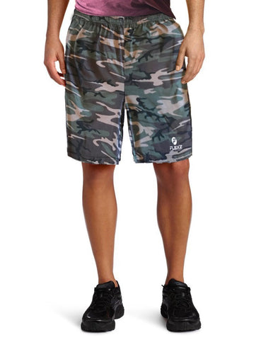 Men's Camo Cotton Shorts For Basketball Sports Gym Workout Running - Flexz Fitness - 1