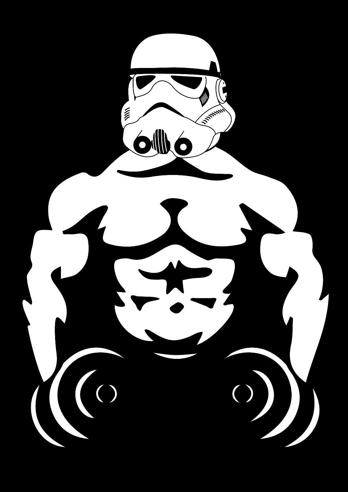 Storm trooper lifiting