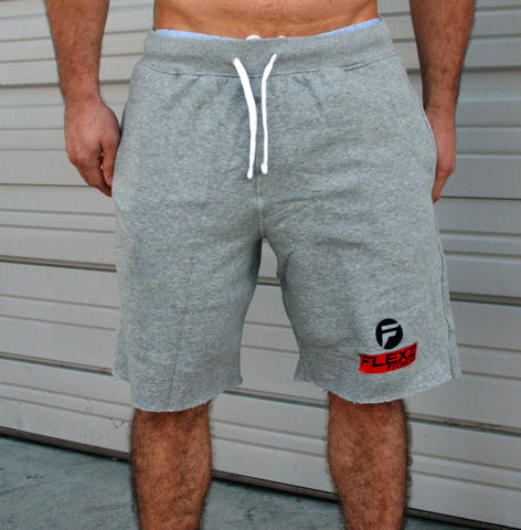 Gym Sweatshorts - Grey - Flexz Fitness - 2