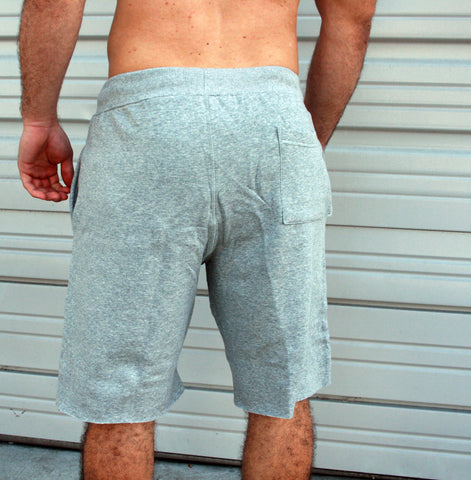 Gym Sweatshorts - Grey - Flexz Fitness - 3