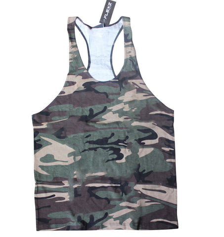 Camo Tank Top - Flexz Fitness - 1