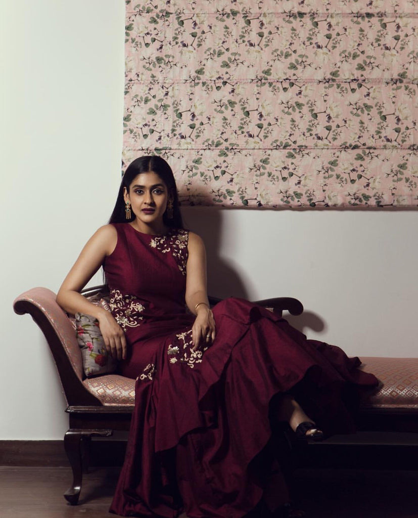 Spotted in 2017, the most popular blogger https://instagram.com/shreyakalra1 gracing our gown