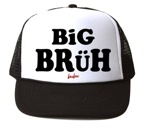 Bubu - Big Bruh White / Black Trucker Hat