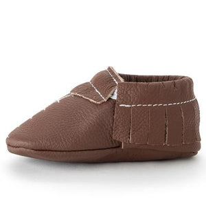 BirdRock Baby - Touchdown Genuine Leather Baby Moccasins