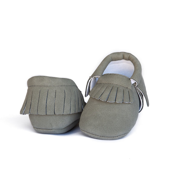 Emerson and Friends LLC - Suede Baby Moccasins
