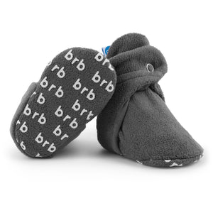 BirdRock Baby - Slate Grey Fleece Baby Booties