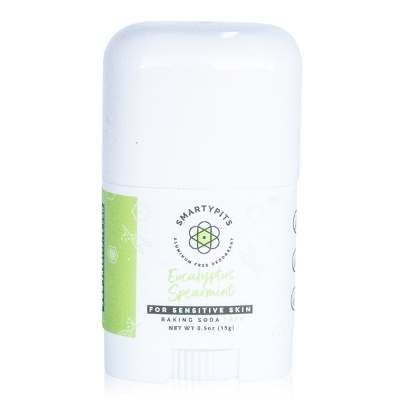 SmartyPits - Mini | Eucalyptus Spearmint | Sensitive | Baking Soda Free
