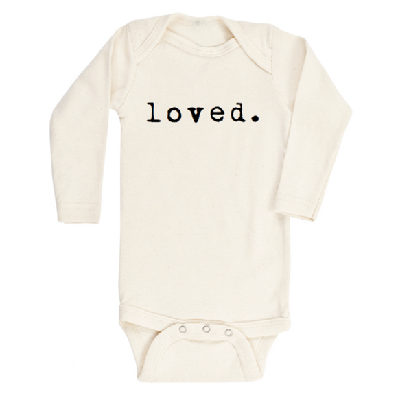 Tenth & Pine - Loved Long Sleeve Onesie