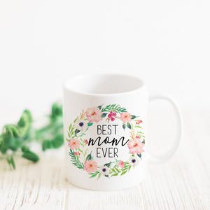 Promenade Field - Best Mom Ever Mug