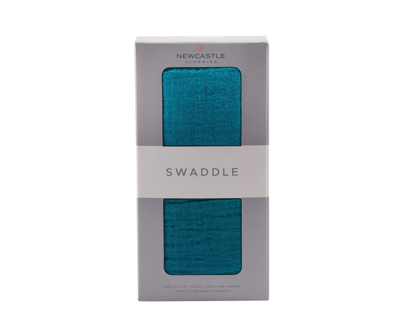 Newcastle Classics - Shaded Spruce Solid Swaddle