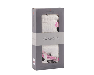 Newcastle Classics - Pink Digger Swaddle