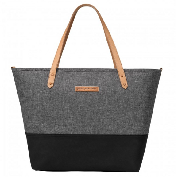 Downtown Tote- Graphite/Black