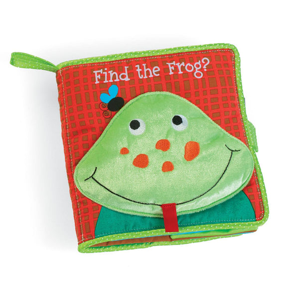 Find the Frog Soft Activity Book