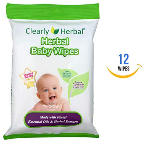Baby Wipes- Handy to go Pack- 12 Count