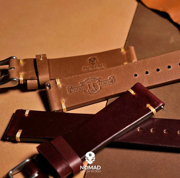 Horween Leather Co - Vintage Burgandy (N2W) 20mm